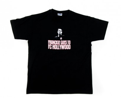 "T-shirt ""Franckie Goes to FC Hollywood"" - Manches Courtes"