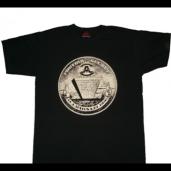 "T-shirt ""Illuminazi"" Noir-Noir"