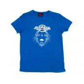 """Tshirt Femme """"Touche d'espoir"""" bleu"""