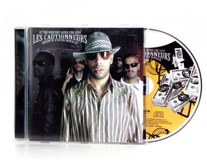 "CD Les Cautionneurs "" Quinte Flush Royale"""