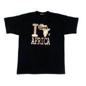 "Tshirt ""I Love Africa"""