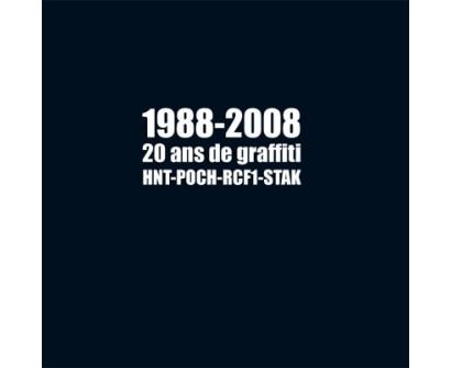 "Livre ""1988-2008, 20 ans de Graffiti"""