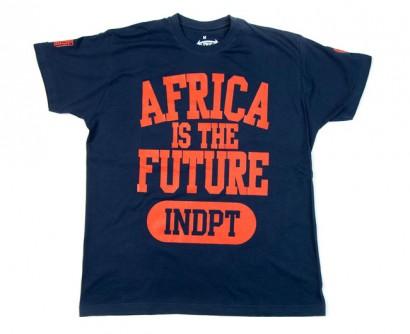 "Tshirt ""INDPT"" Marine"
