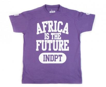"""Tshirt """"INDPT"""" Violet"""