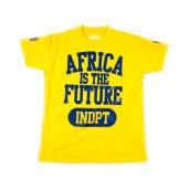 """Tshirt """"INDPT"""" Jaune"""